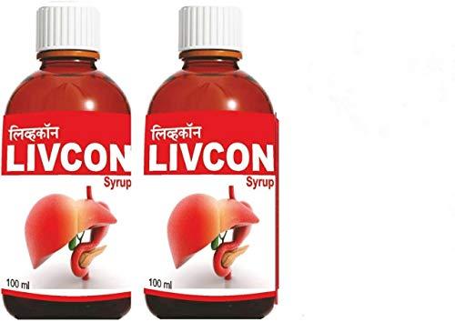 Ujwala Ayurvedashram Livcon Health Care Syrup, 200ml - Pack of 2