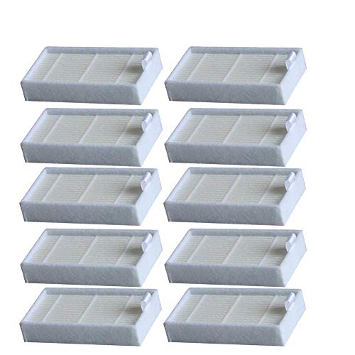 Filter ILIFE & MEDION,10x Hepa Ersatzfilter,Saugroboter, Ersatzteile Zubehör, Saugroboter Ersatzteile Zubehör, Hepa Filter, MD18500, MD18600, MD18501, MD16192, V3, V3S Pro, V5, V5S Pro