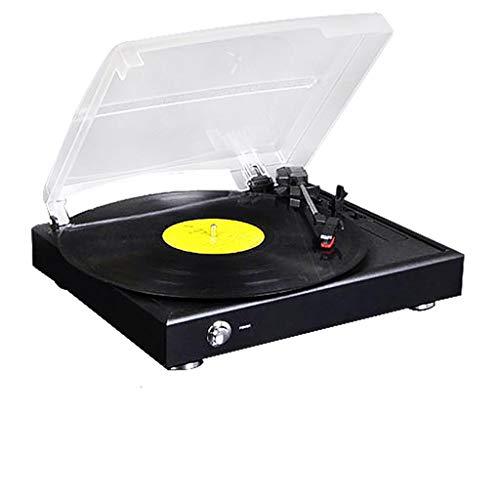 Cpjac Tocadiscos Pequeño Altavoz Retro Vinilo Grabador Vintage LP ...