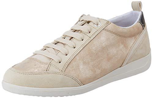 Geox Damen D Myria A Sneaker, Beige (Sand C5004), 41 EU
