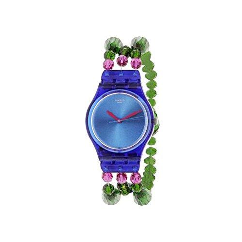 Swatch Originals gn243b Swiss reloj de cuarzo de plástico azul de la mujer