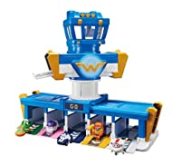 Super Wings EU730830 Missions Team Airport Adventure Playset with Jett Figure, Blue