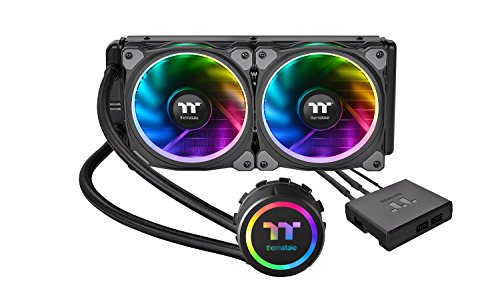 Thermaltake Floe Riing RGB 240 TT CL-W157-PL12SW-A Premium All-In-One Wasserkühlung