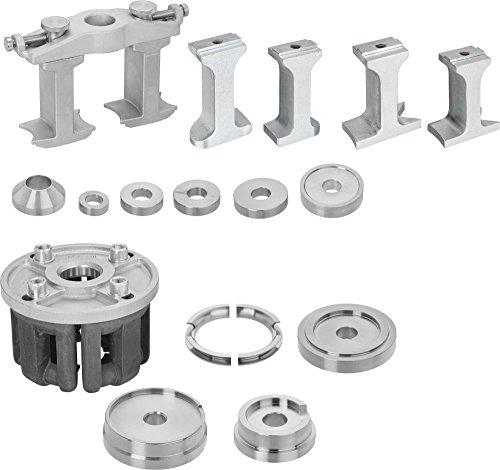 Vigor V3866 Universele set voor demontage/montage van geschroefde wiellagereenheden en compacte wiellagers, V3866 ∙ Aantal gereedschappen: 30