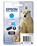 Epson T2632 Cartouche d'encre d'origine 700 pages 9,7 ml Cyan Amazon Dash...