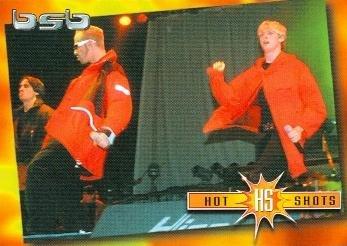 Nick Carter trading card Backstreet Boys 2000 WL #11 Aj McLean