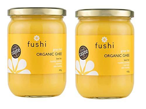 (2 Pack) Fushi Ghee 420g Organic Grass Fed Clarified Butter