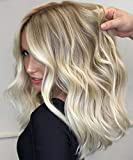 VeSunny Tape in Blonde Hair Extensions Ombre Real Remy Human Hair 14inch...