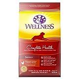 Wellness Natural Pet Food Complete Health Natural Dry Senior Dog Food, Chicken & Barley, 5-Pound Bag