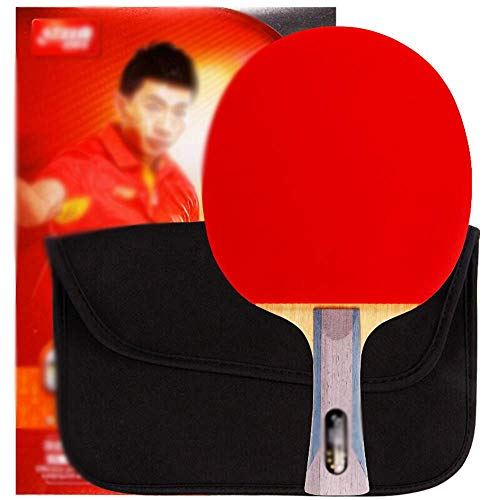 Best Prices! KDKDA 6 Star Professional Level Ping Pong Paddle Includes 1 Ping Pong Paddles with 1 Ra...