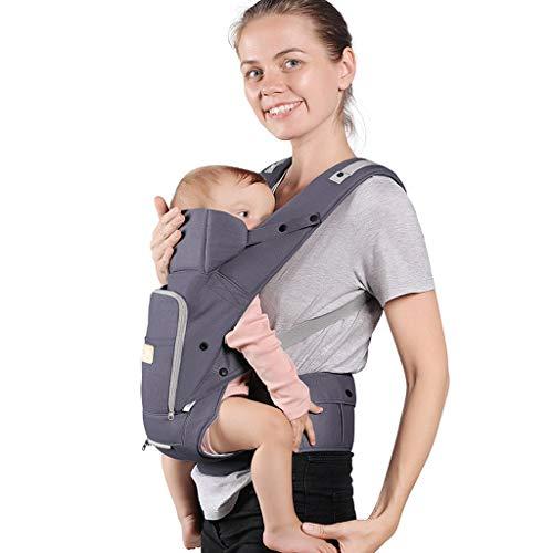 Porte bébé Porte-bébé Multifonctions Respirant Bébé Assis sur Le Tabouret de la Taille Universel Usage démontable et indépendant ( Color : A )