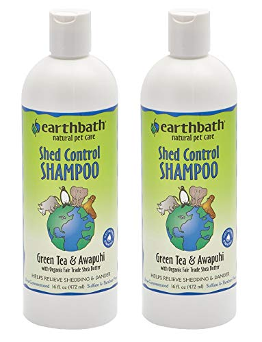 Earthbath All Natural Green Tea Shampoo Shed...