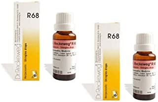 2 x Dr.Reckeweg-Germany R68 Homeopathic Medicine