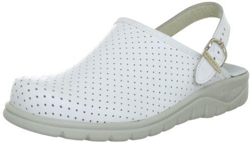 Berkemann Unisex-Erwachsene Tec-Pro Newport Pantoletten, Weiß (weiß 100), 36 1/3 EU