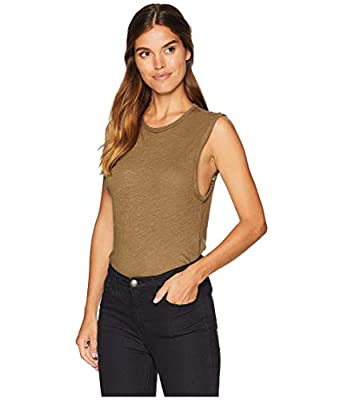 Free People All The Time Bodysuit Army MD (Women's 8-10)