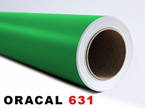 GRAZDesign Oracal 631 plakfolie – zelfklevend voor meubels en geschikt voor het ploten Afmetingen 5 m x 63 cm in 062 lichtgroen