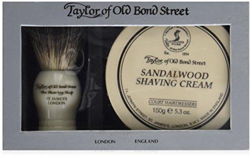 Taylor of Old Bond Street Set de Rasage avec Blaireau et crème à Raser