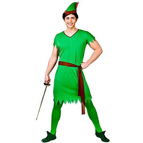 Lost Boy/Elf/Robin Hood - Adult Costume Man: L (Chest: 44\