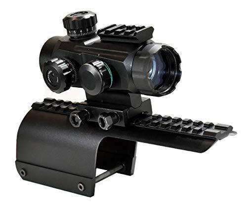 TRINITY Tactical Sight with Mount for Benelli Nova Pump 12ga Aluminum Black Hunting Optics Sporting Sight Tactical Accessory Base Rail Adapter Single Rail Mount.