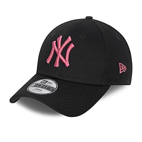 New Era New York Yankees MLB Cap 9Forty verstellbar Basecap Kappe Baseball NY schwarz - Youth