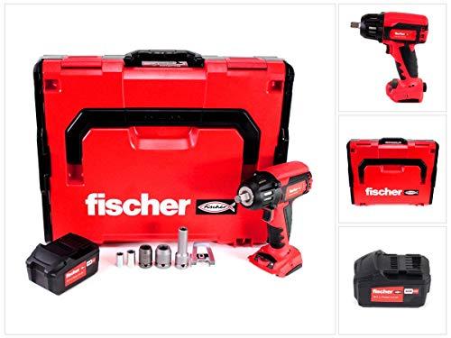 Fischer FSS 18V 400 BL Akku Schlagschrauber 1/2' 400Nm Brushless Set 2 (552924) + 1x Akku 4,0Ah + L-Boxx - ohne Ladegerät