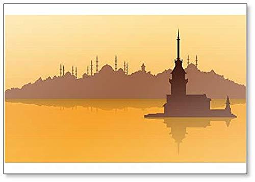 Turkije Istanbul Zonlicht - Koelkast Magneet