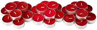 comprar comparacion Ikea Vela pequeña Perfumada, Parafina, Rojo, 20x12x3 cm, 30 Unidades