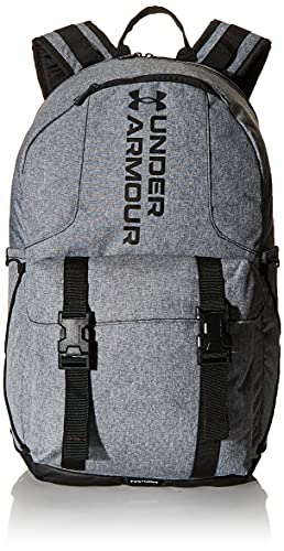 Under Armour Adult Gametime Backpack , Pitch Gray Medium Heather (012)/Leather Brown , One Size Fits All