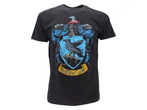 T-Shirt RAVENCLAW von HARRY POTTER - 100{68d4279d17f30f2362f0c77ece6e500c9fe523dae6338290c5394f4587d115a9} Offiziell Original WARNER BROS (SMALL)