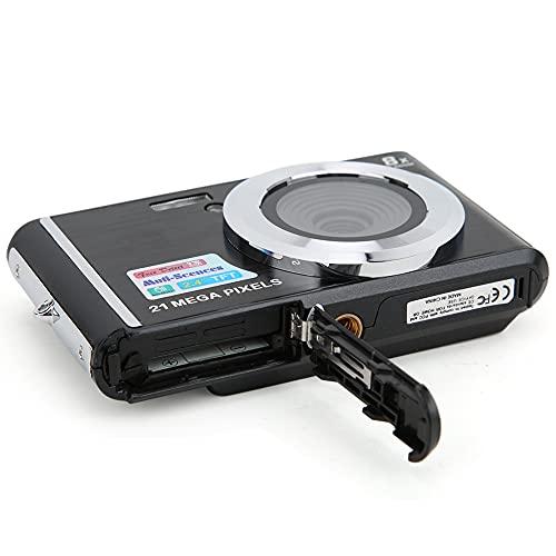 01 Fotocamera per Bambini HD, Fotocamera Digitale con Zoom Digitale 8 Volte, per videocamere per Principianti Bambini Bambini Elettronica Regalo(Nero)