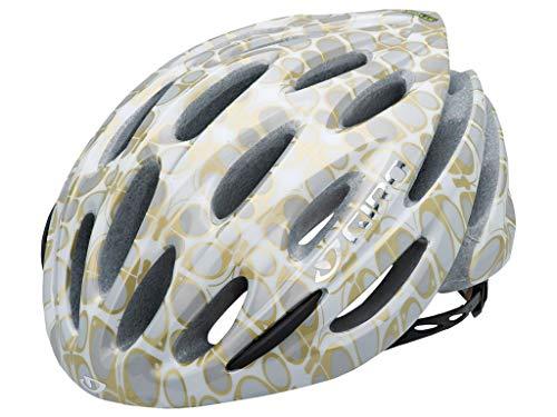 Giro 200005012 Stylus 10 - Casco para Ciclismo, Color Negro Gris White/Gold...