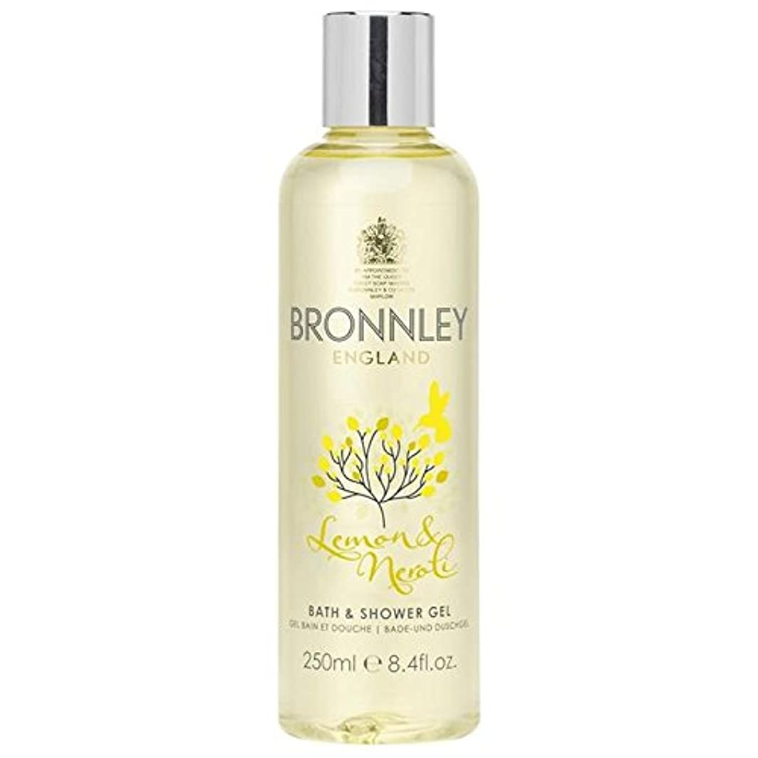 地震亜熱帯以下Bronnley Lemon & Neroli Bath & Shower Gel 250ml (Pack of 6) - レモン&ネロリバス&シャワージェル250ミリリットル x6 [並行輸入品]