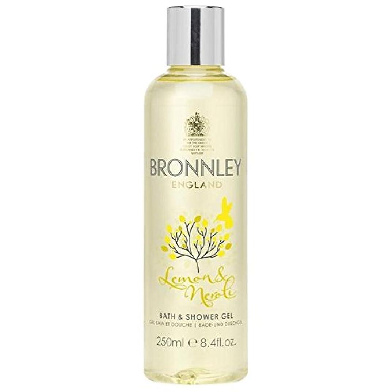 動力学描く相対性理論レモン&ネロリバス&シャワージェル250ミリリットル x4 - Bronnley Lemon & Neroli Bath & Shower Gel 250ml (Pack of 4) [並行輸入品]