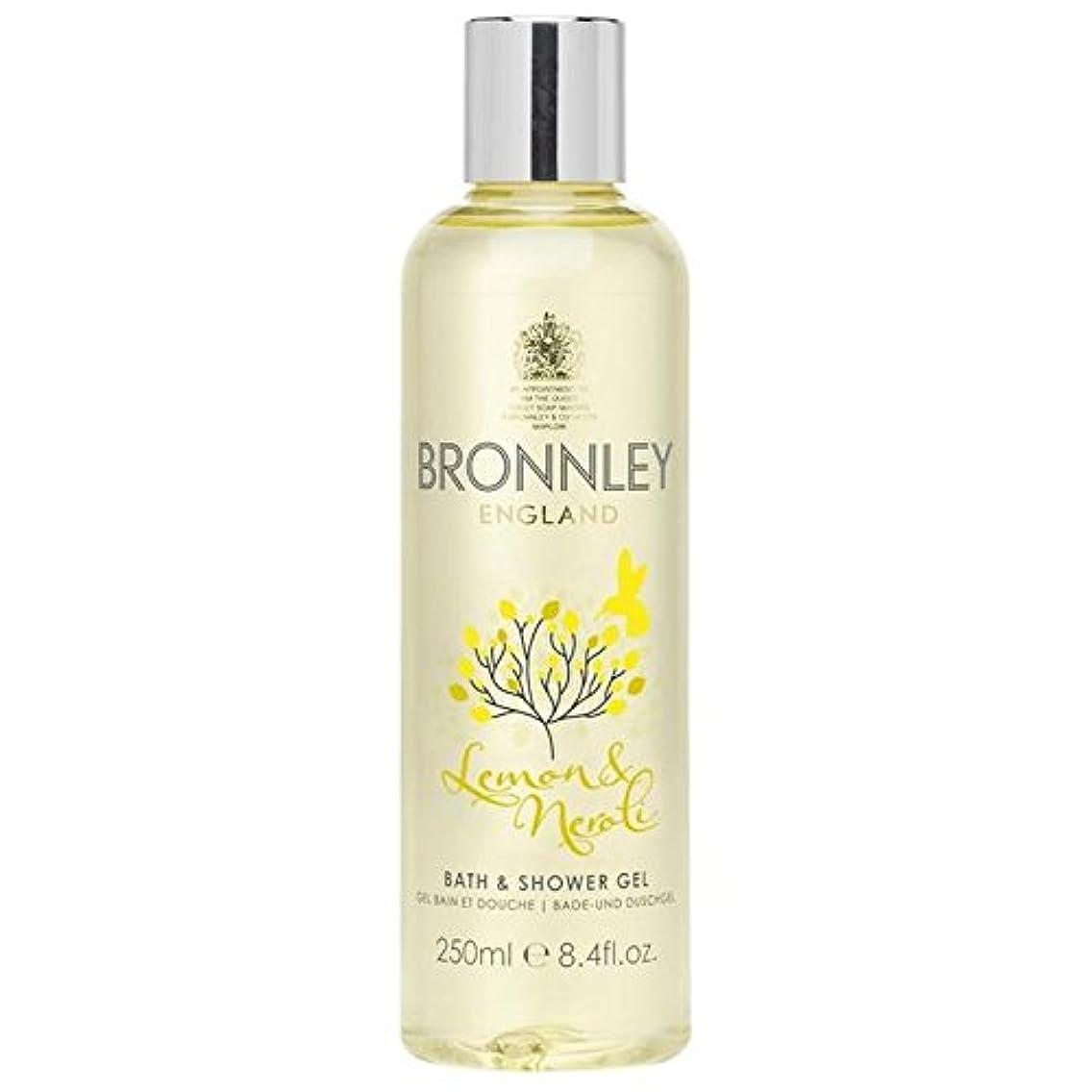 起業家あいにく長老レモン&ネロリバス&シャワージェル250ミリリットル x2 - Bronnley Lemon & Neroli Bath & Shower Gel 250ml (Pack of 2) [並行輸入品]