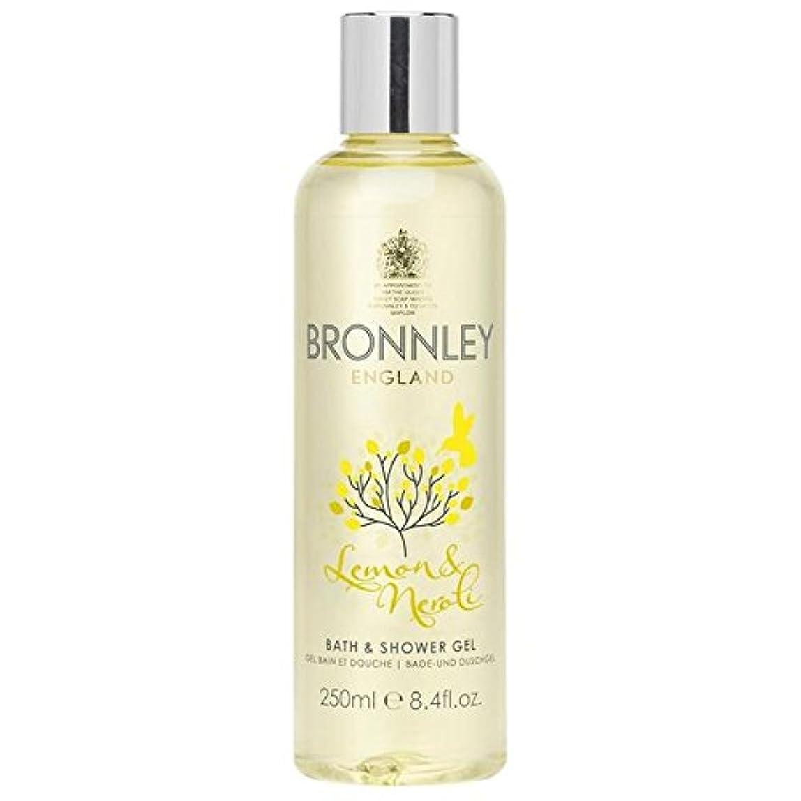 病院社員バングラデシュBronnley Lemon & Neroli Bath & Shower Gel 250ml (Pack of 6) - レモン&ネロリバス&シャワージェル250ミリリットル x6 [並行輸入品]