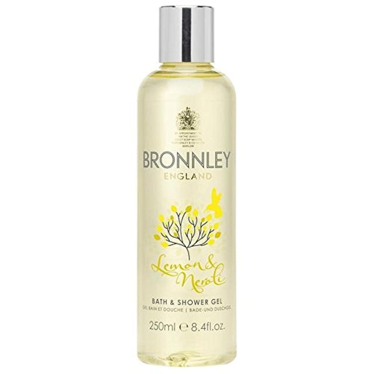 ブレイズ苛性候補者レモン&ネロリバス&シャワージェル250ミリリットル x2 - Bronnley Lemon & Neroli Bath & Shower Gel 250ml (Pack of 2) [並行輸入品]