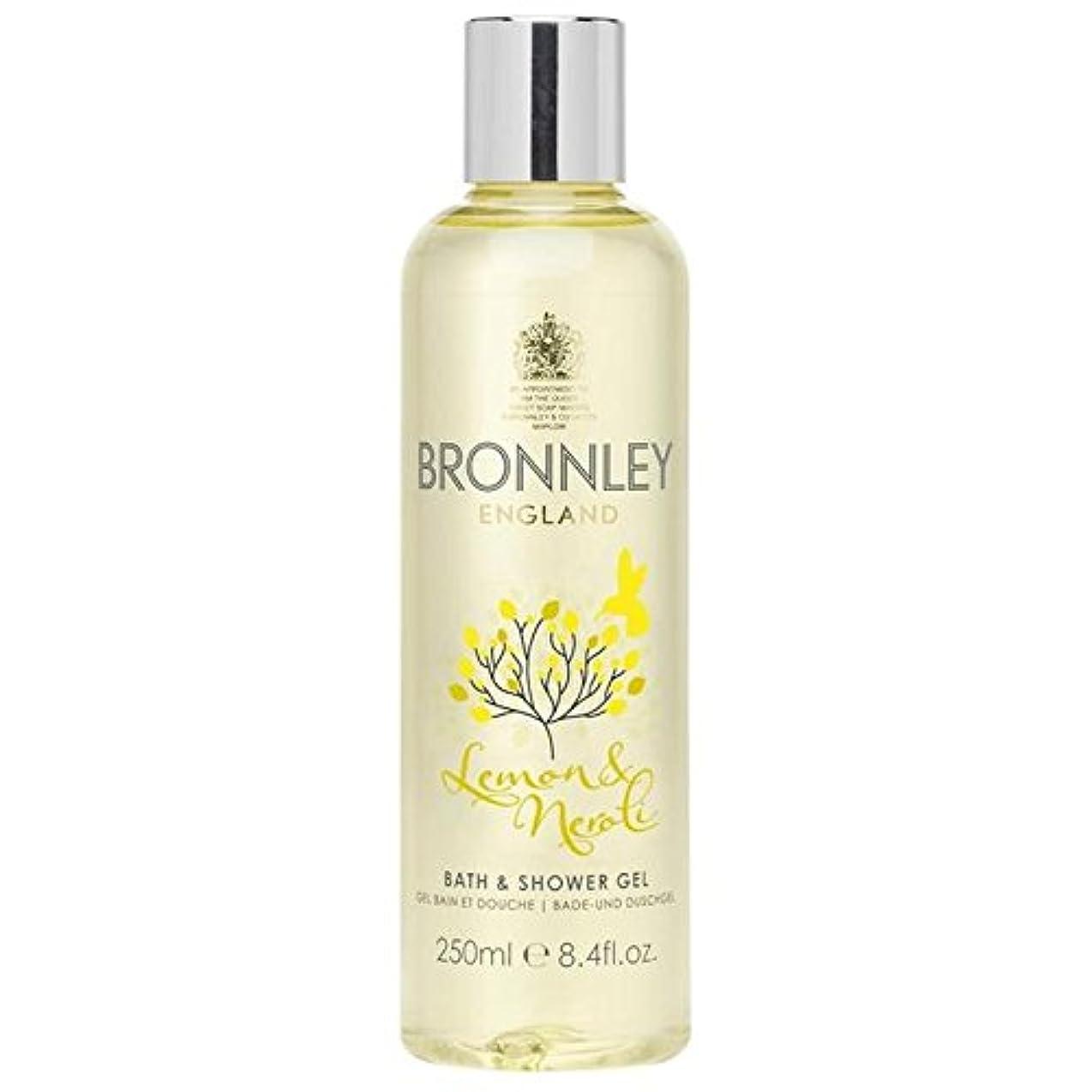 争い工業化する上がるBronnley Lemon & Neroli Bath & Shower Gel 250ml (Pack of 6) - レモン&ネロリバス&シャワージェル250ミリリットル x6 [並行輸入品]