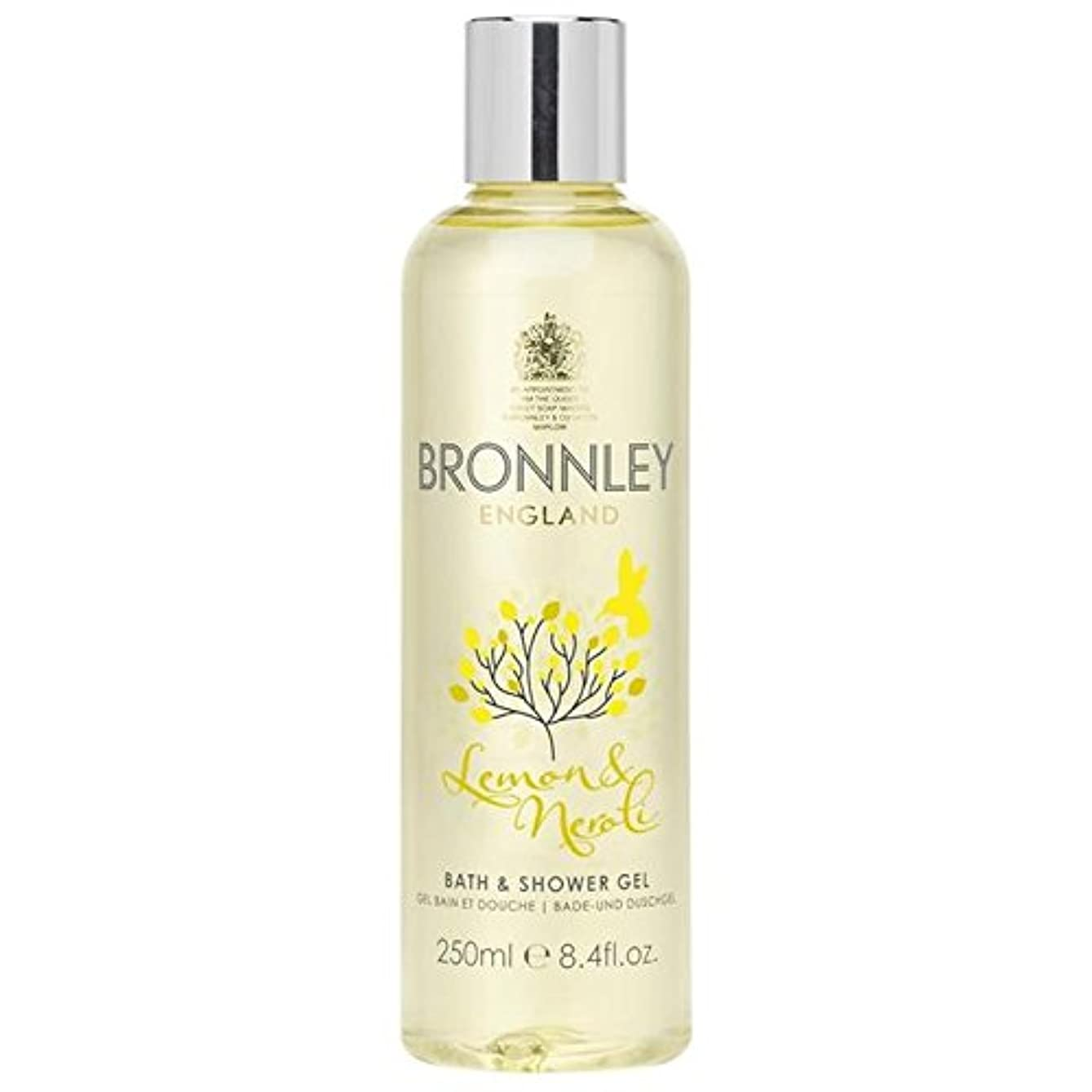 対海上不健全Bronnley Lemon & Neroli Bath & Shower Gel 250ml - レモン&ネロリバス&シャワージェル250ミリリットル [並行輸入品]