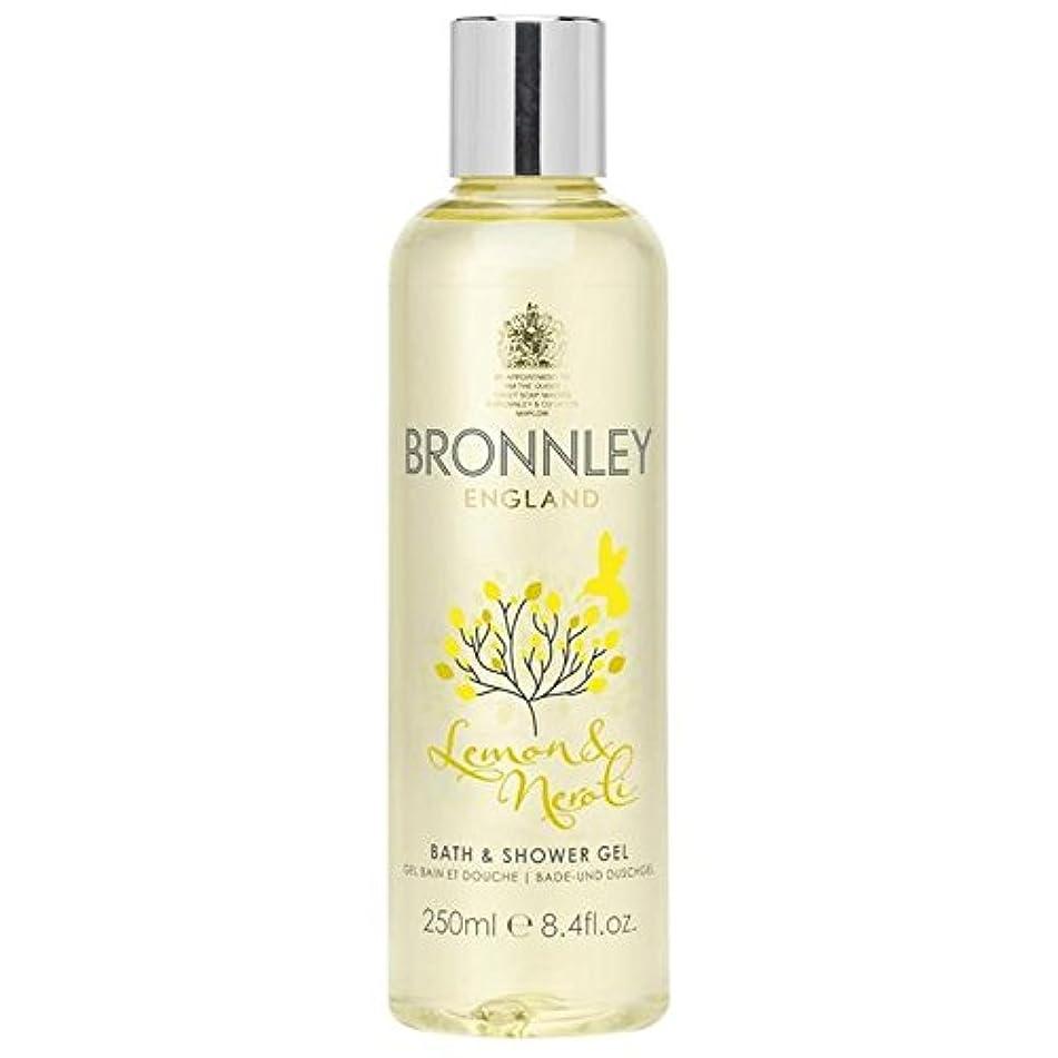 細部太い器用Bronnley Lemon & Neroli Bath & Shower Gel 250ml (Pack of 6) - レモン&ネロリバス&シャワージェル250ミリリットル x6 [並行輸入品]