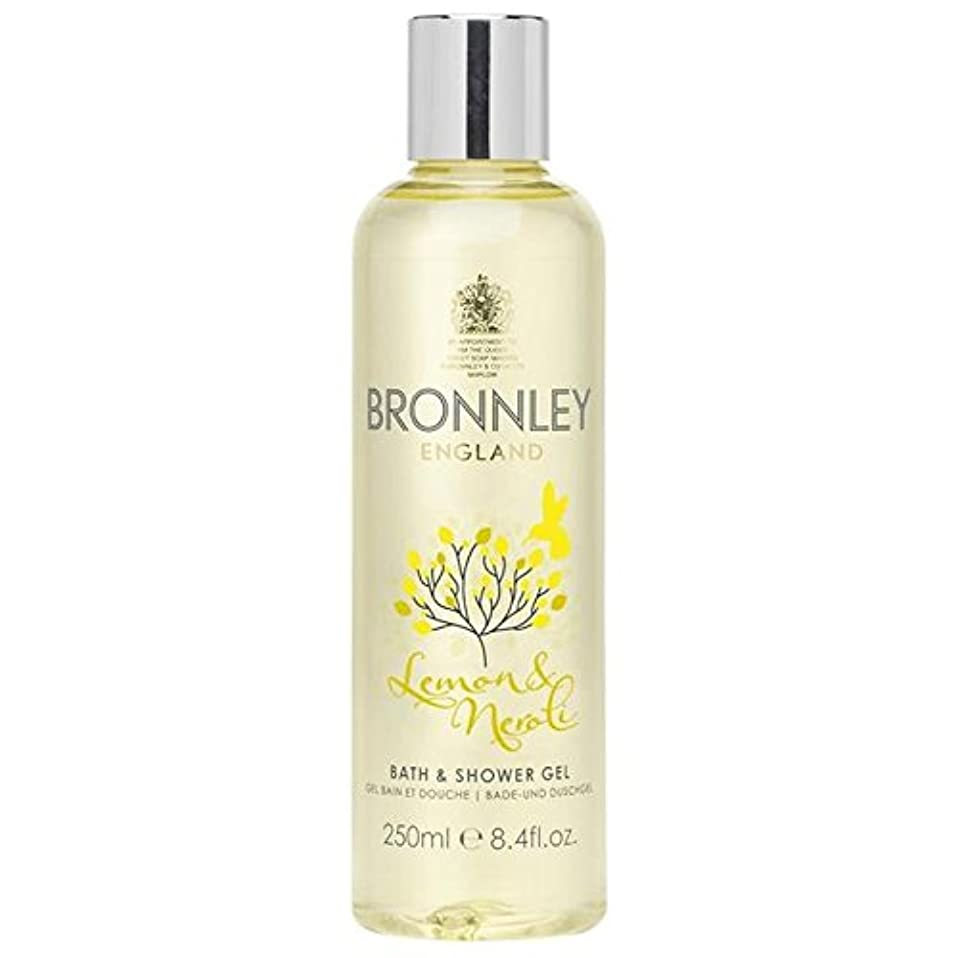 居心地の良い最大許容できるレモン&ネロリバス&シャワージェル250ミリリットル x2 - Bronnley Lemon & Neroli Bath & Shower Gel 250ml (Pack of 2) [並行輸入品]