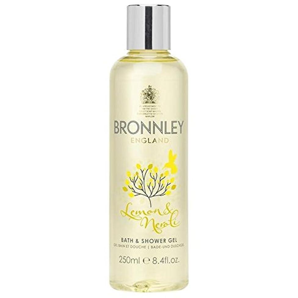 生む生む公使館Bronnley Lemon & Neroli Bath & Shower Gel 250ml - レモン&ネロリバス&シャワージェル250ミリリットル [並行輸入品]