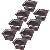 GreenLighting 8 Pack Aluminum Solar Post Cap...