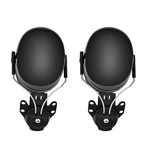 Vipxyc Casco de Seguridad Orejeras Accesorio para Orejeras Reducción de Ruido Casco de protección Orejeras Accesorio Protección para los oídos Orejeras