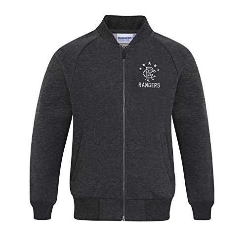 Rangers FC Official Gift Boys Retro Varsity Baseball Jacket 6-7 Years