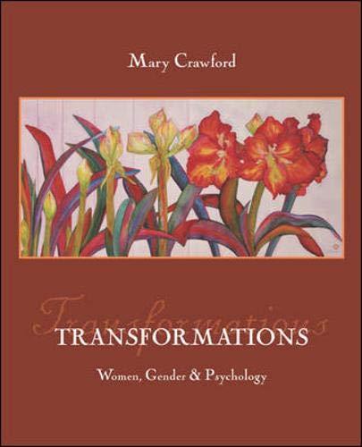 Transformations: Women, Gender, and Psychology with Sex & Gender Online Workbook