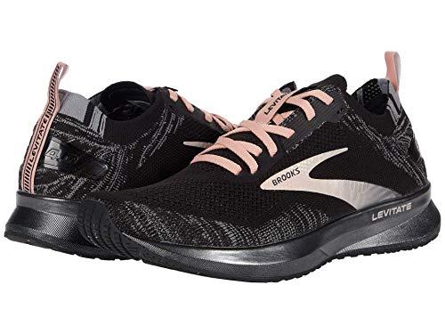 Brooks Levitate 4 Running Shoe Black/Grey/Coral Cloud 9 B (M)