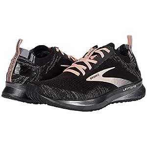 Brooks Levitate 4 Running Shoe Black/Grey/Coral Cloud 8.5 B (M)
