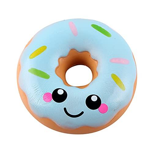 RYSF 11cm Lovely Donut Toy Toys Antiestrés Pop It Push Bubble Squeeze Juguetes (Color : A)