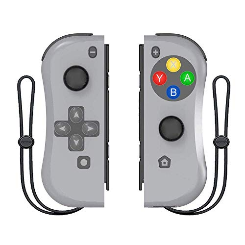 Controller for Switch, BestOff Left and Right Controllers Compatible for Nintendo Switch Console as a Substitution for Joy Con Controller