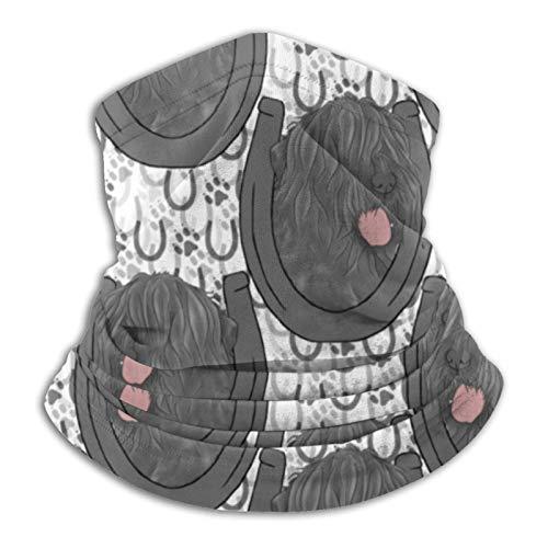Gbyuhjbujhhjnuj Negro Ruso Retratos Pasamontañas Headwear Cuello Calentador Uv/Protección del Viento Reutilizable Lavable Elástico Transpirable